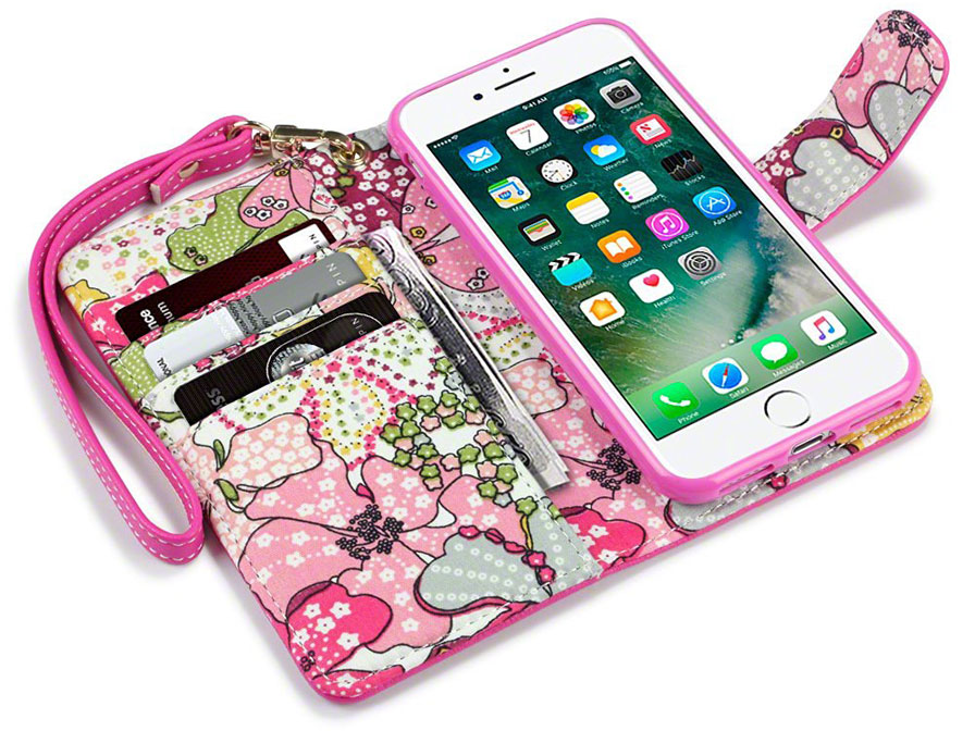 CaseBoutique Lily Wallet Bookcase - iPhone 8/7 hoesje