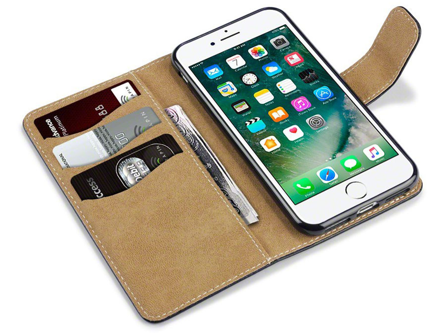 CaseBoutique Classic Bookcase - iPhone 8/7 hoesje