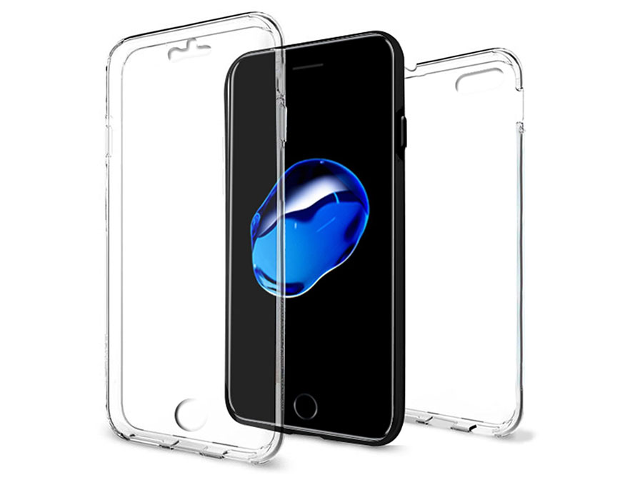 Crystal 360 TPU Case - Doorzichtig iPhone 8/7 hoesje