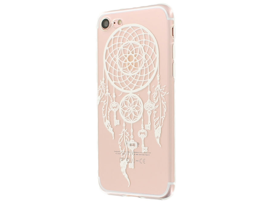 Crystal TPU Case Dreamcatcher - iPhone 7 hoesje