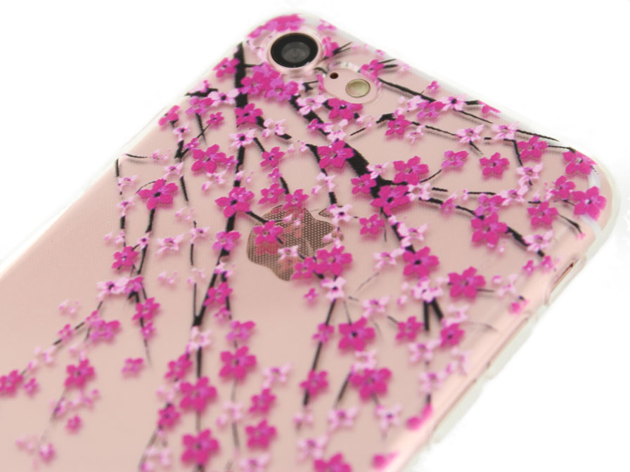 Blossom Series Crystal TPU Case - iPhone 8/7 hoesje