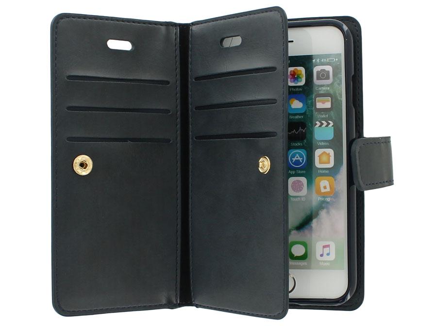 Portemonnee Voor Veel Pasjes.True Wallet Case Met 11 Vakjes Iphone 8 7 Hoesje