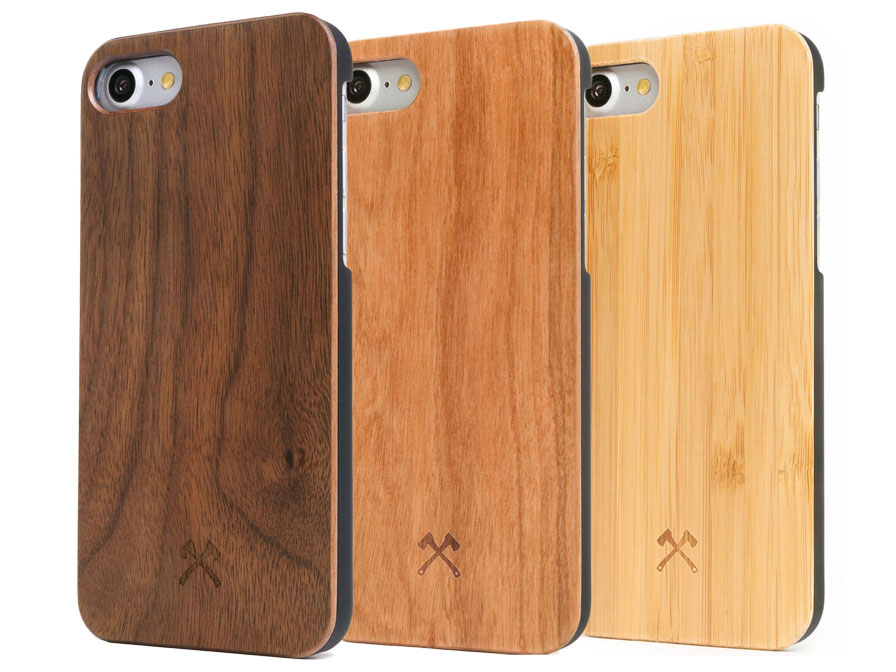 Woodcessories EcoCase - Houten iPhone SE 2020 / 8 / 7 hoesje