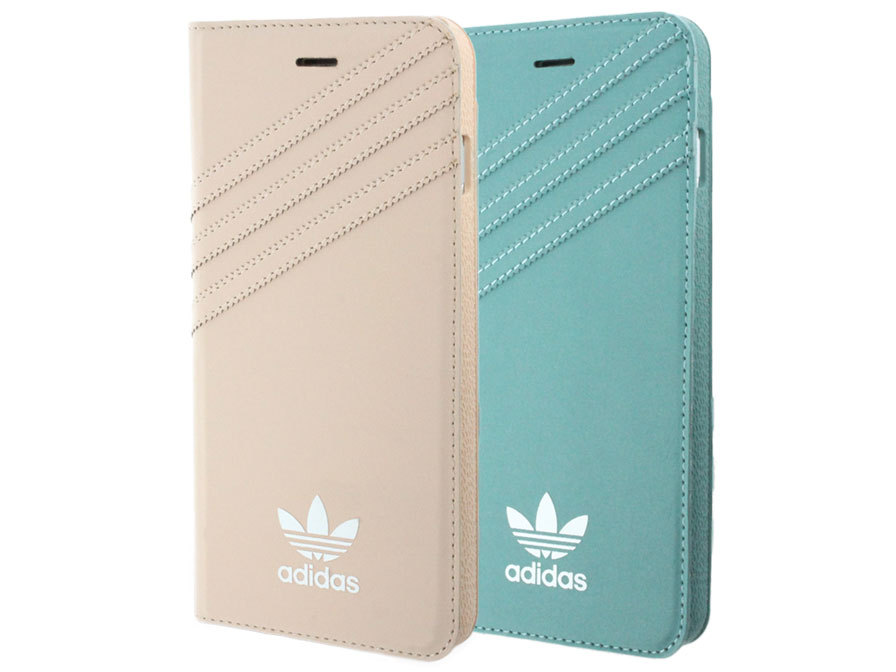 adidas Vintage Booklet Case - iPhone 8+/7+ hoesje