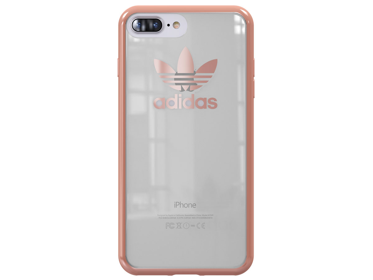 adidas Originals Rose Gold Case - iPhone 8+/7+ hoesje
