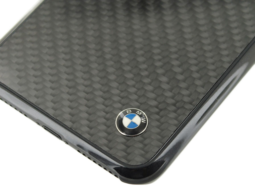 BMW Carbon Hard Case - iPhone 8 Plus/7 Plus hoesje