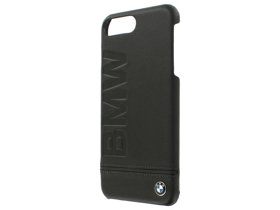 reputable site 8bf6e 47e1e BMW Logo Hard Case - Leren iPhone 8 Plus/7 Plus hoesje