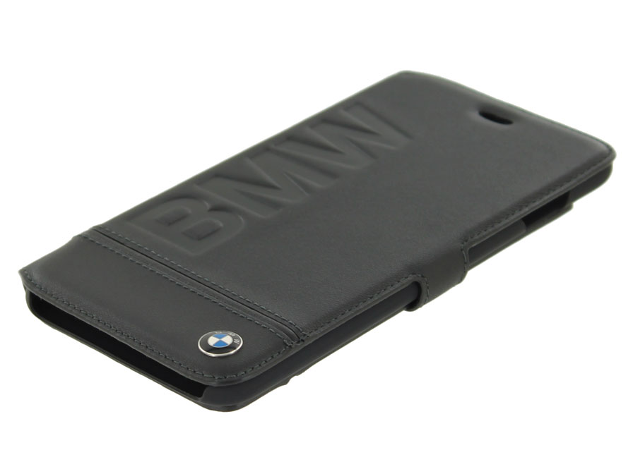 BMW Logo Bookcase - Leren iPhone 8+/7+ hoesje