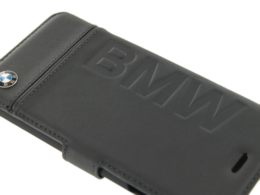 bmw logo bookcase leren iphone 8 7 hoesje