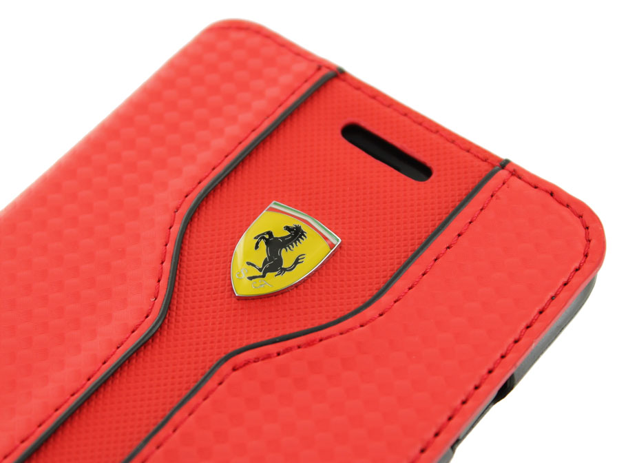 Ferrari Scuderia Bookcase - iPhone 8 Plus/7 Plus hoesje