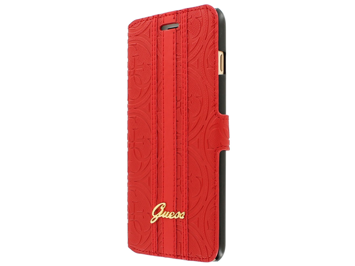 Guess Heritage Bookcase - iPhone 7 Plus hoesje