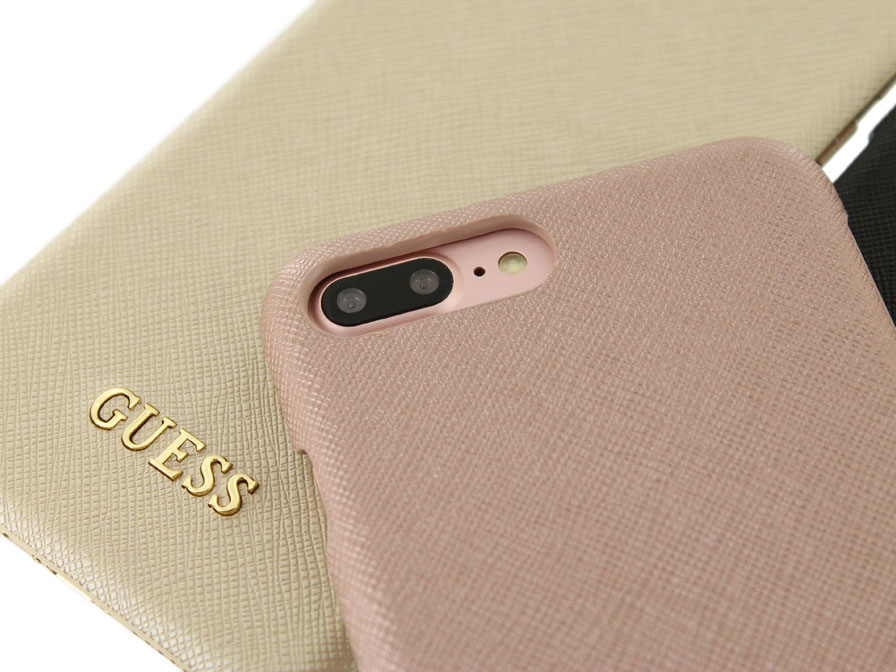 huge discount a6f92 1e7a8 Guess Saffiano Hard Case | iPhone 8 Plus/7 Plus hoesje
