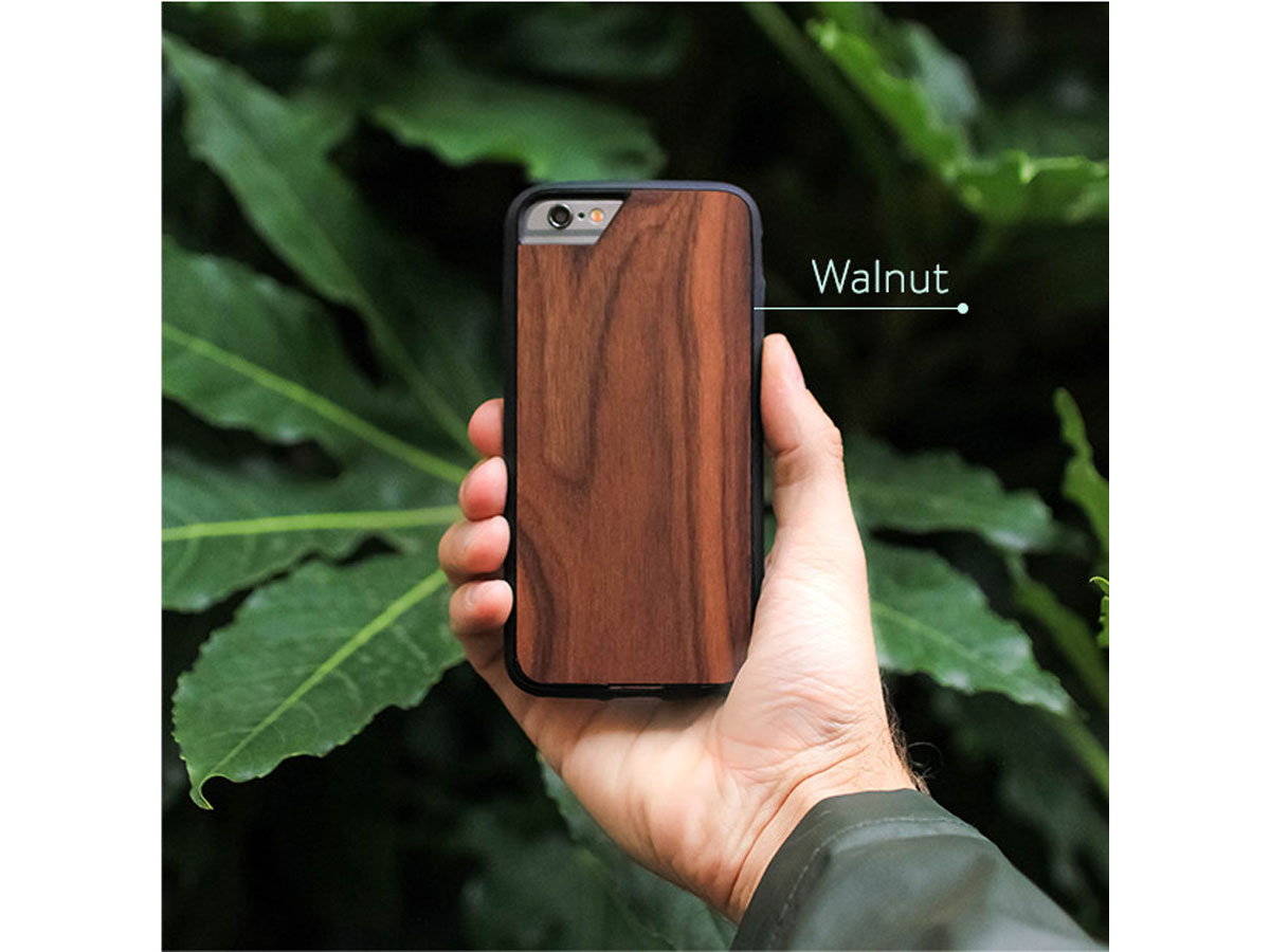 Mous Limitless Walnut Case Iphone 8 7 6s Hoesje