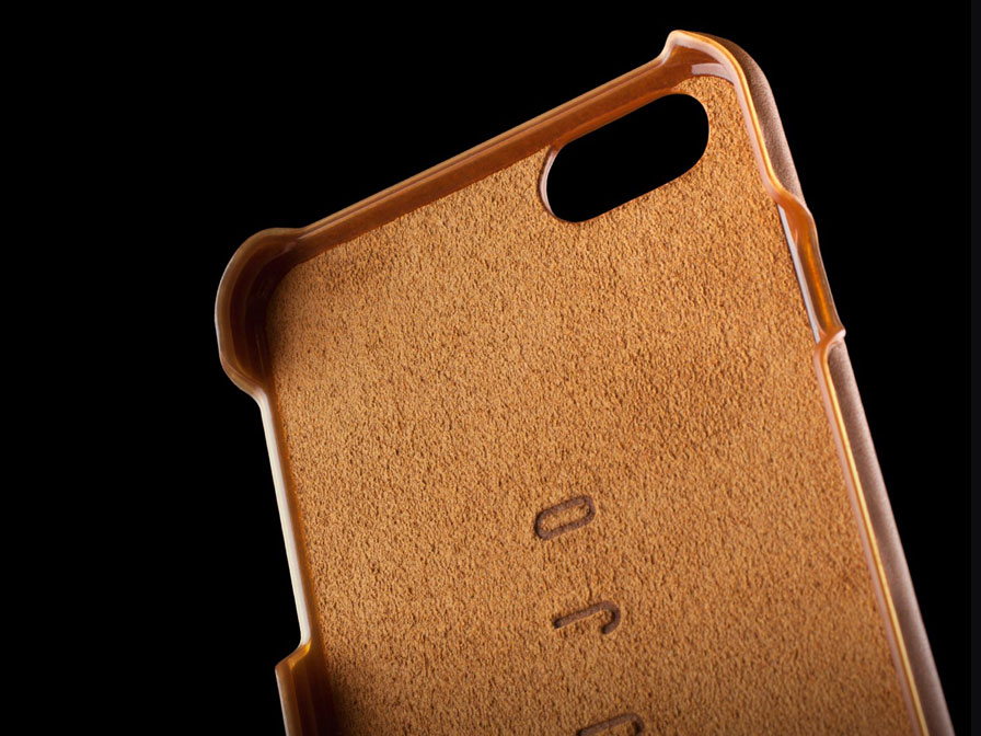 Mujjo Leather Case - Leren iPhone 8 Plus/7 Plus hoesje