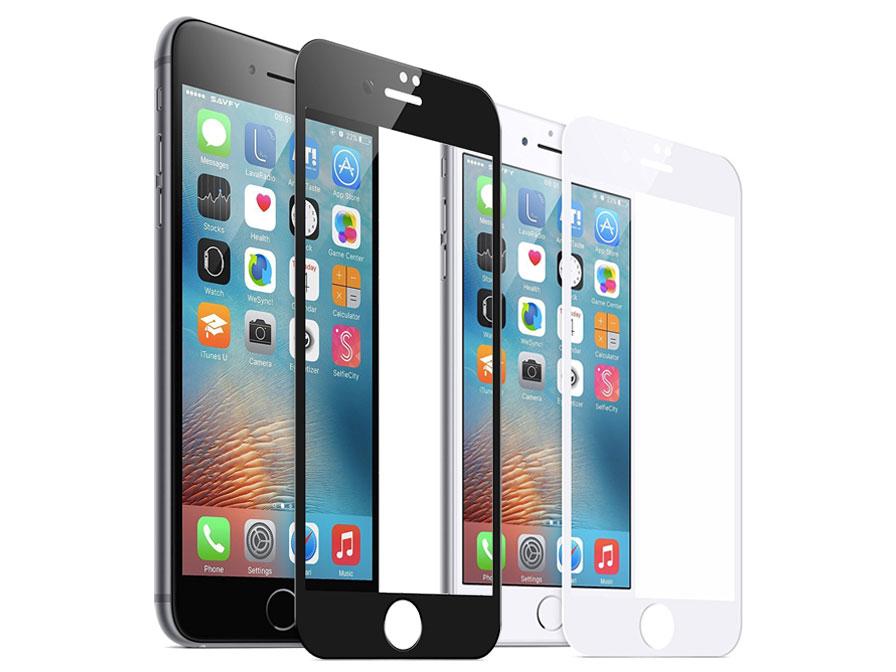iPhone 8+/7+ Screenprotector Full Cover Tempered Zwart