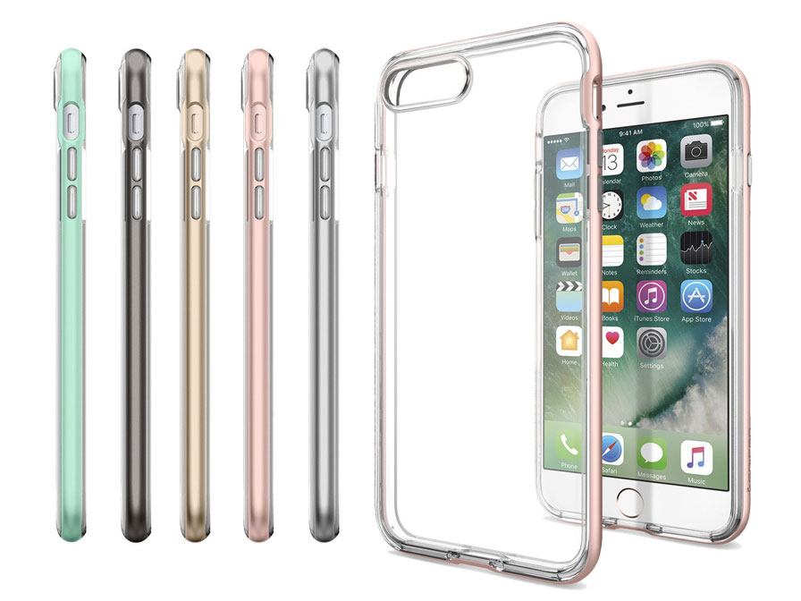 the latest 6675a 18db6 Spigen Neo Hybrid Crystal Case - iPhone 8+/7+ hoesje
