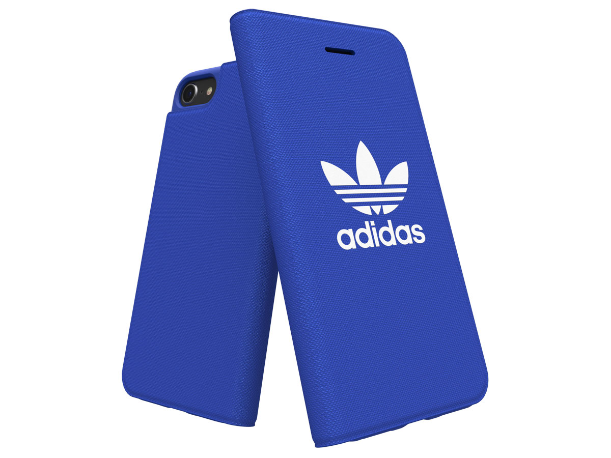 adidas ADICOLOR Booklet Blauw - iPhone SE 2020 / 8 / 7 / 6(s) hoesje