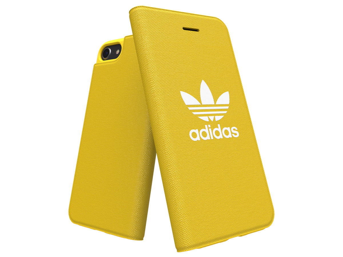 adidas ADICOLOR Booklet Geel - iPhone SE 2020 / 8 / 7 / 6(s) hoesje