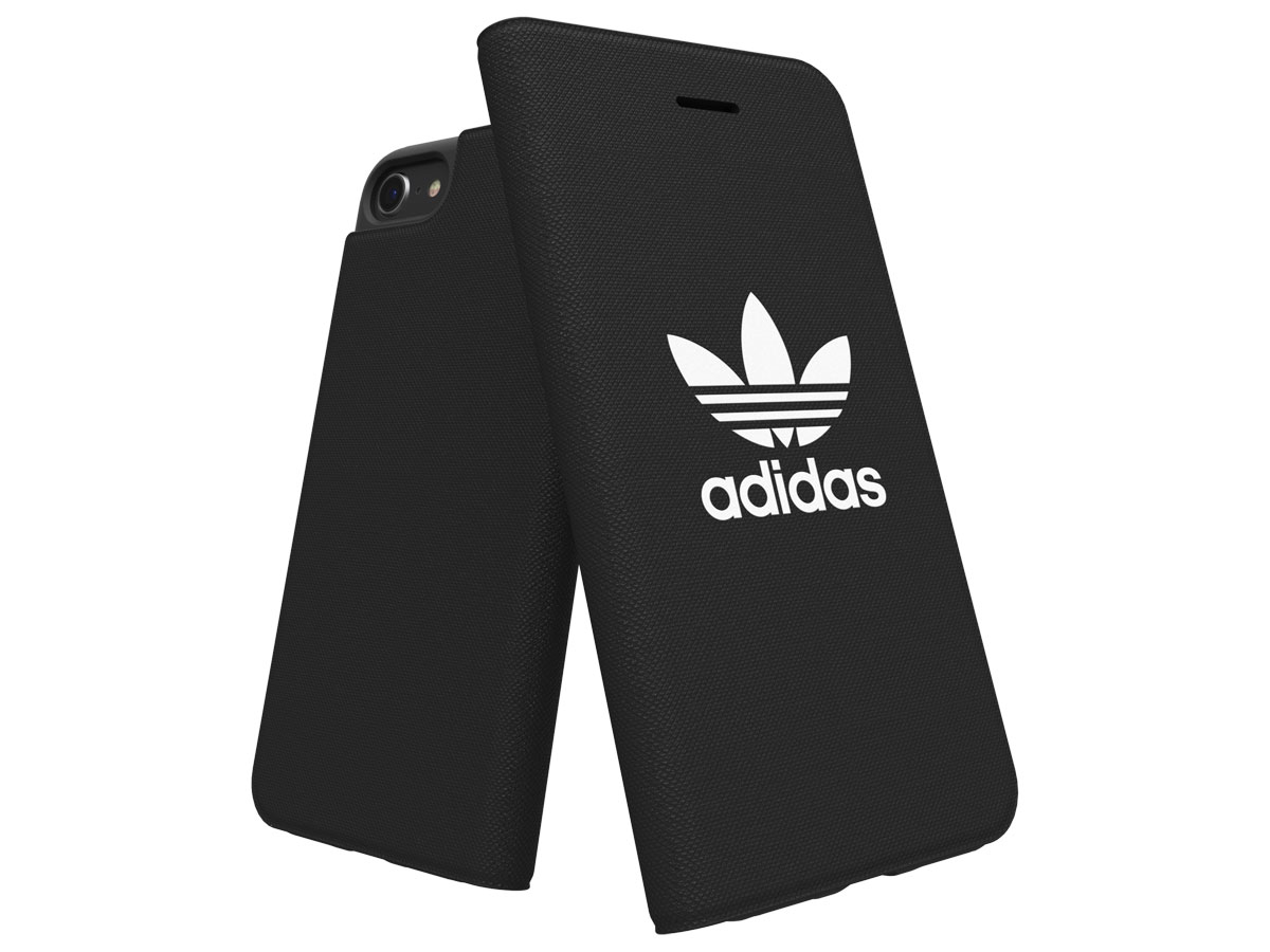 adidas ADICOLOR Booklet Zwart - iPhone 8/7/6 Hoesje