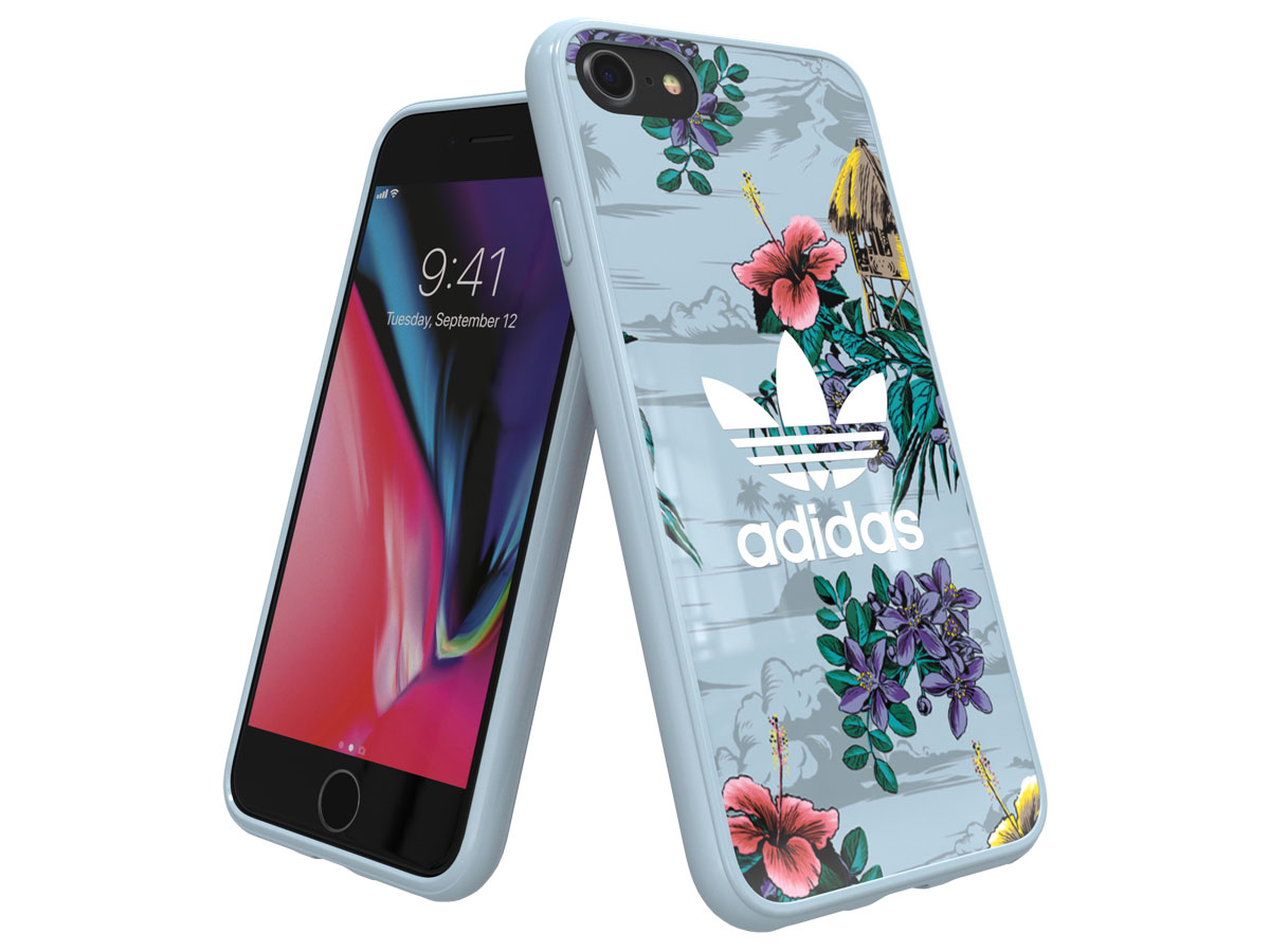 adidas Originals Floral TPU Case - iPhone 8/7/6 hoesje