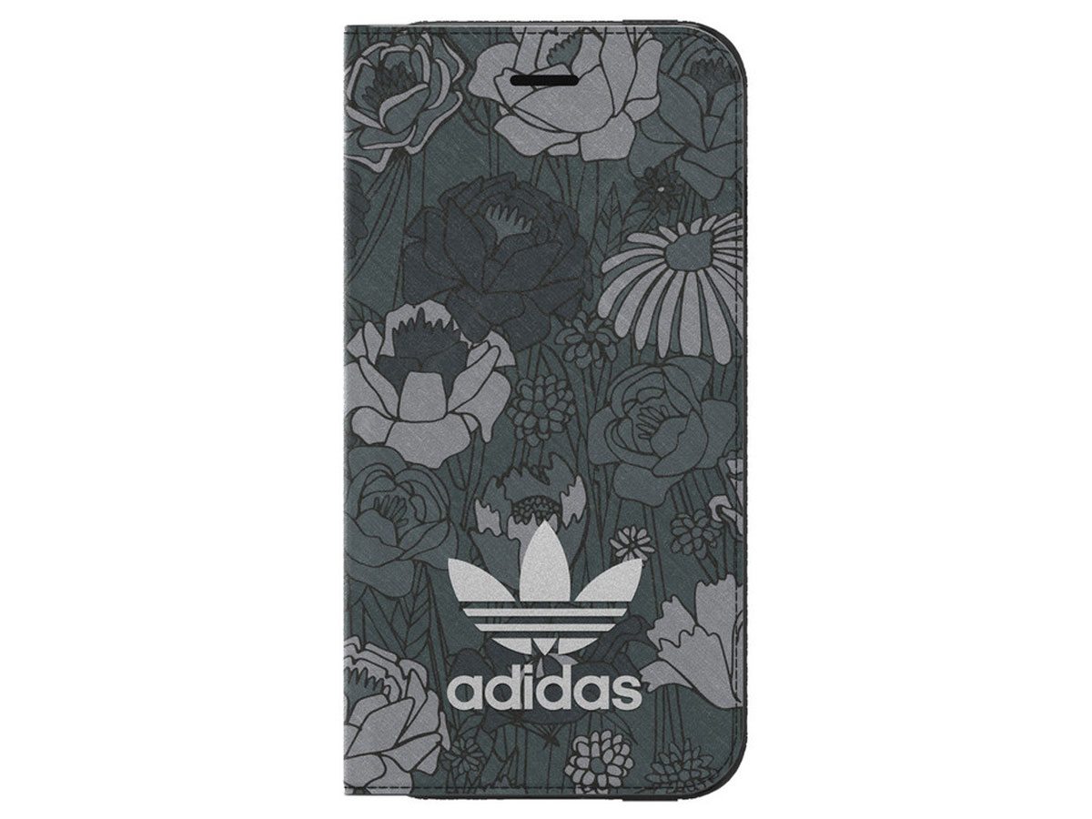 adidas Bohemian Blk Booklet Case - iPhone 8/7 hoesje