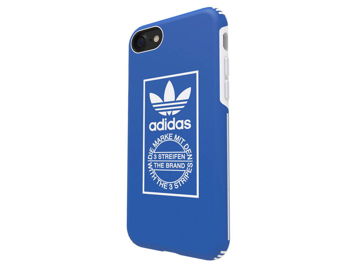adidas Originals Traning Case Blauw - iPhone SE 2020 / 8 / 7 hoesje