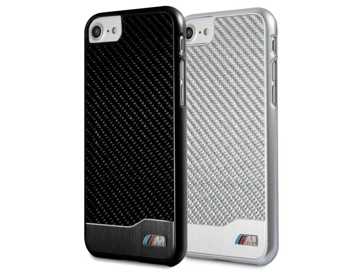 BMW Carbon Aluminium Case - iPhone SE 2020 / 8 / 7 hoesje