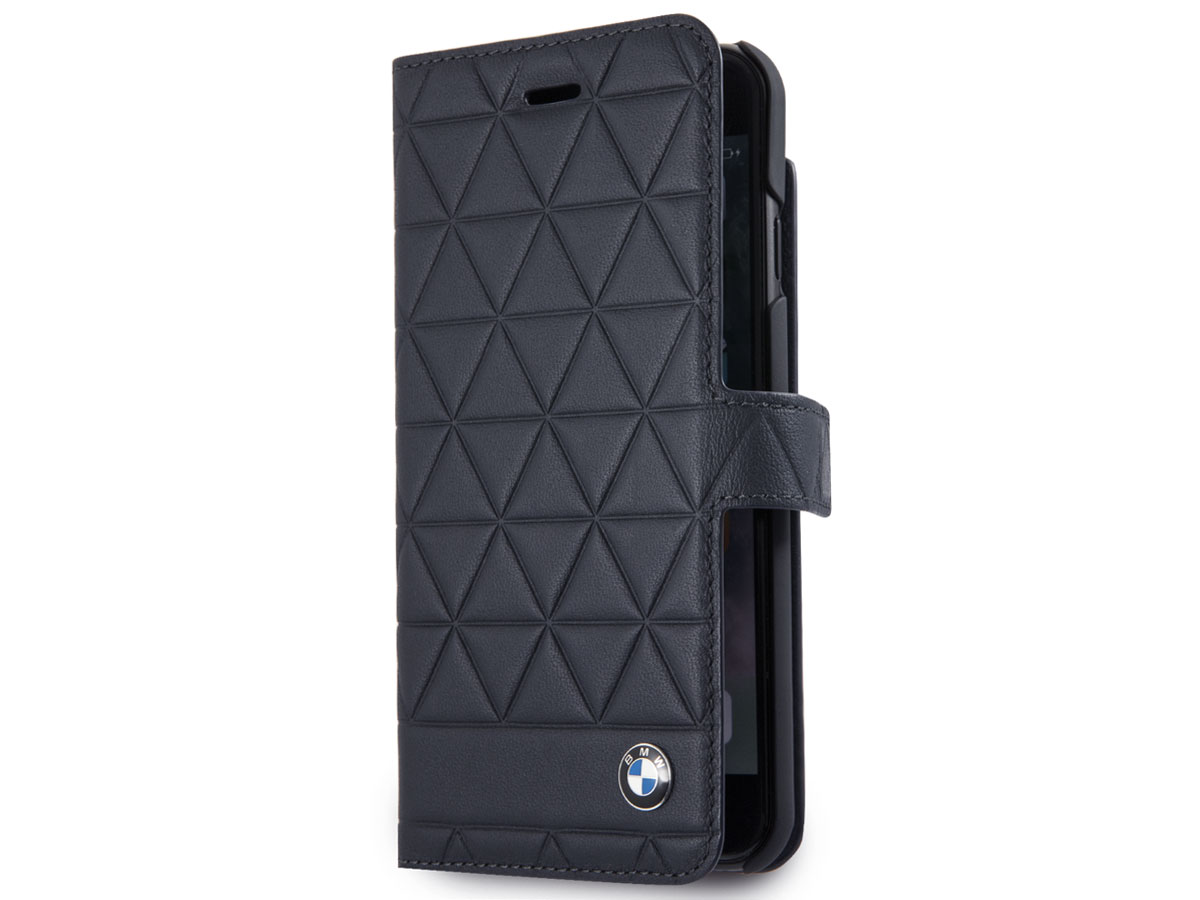 BMW Hexagon Bookcase Navy - iPhone 8/7/6s Hoesje Leer