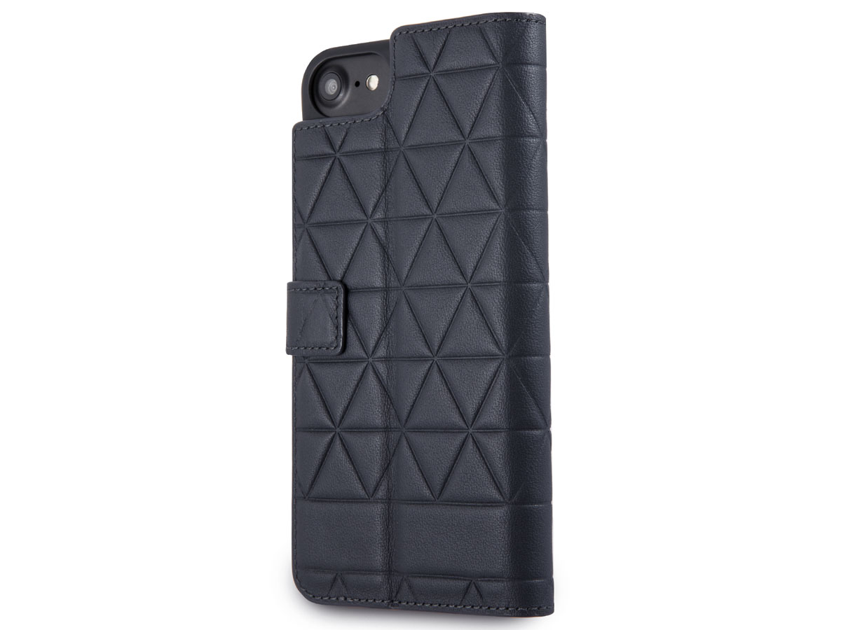 BMW Hexagon Bookcase Navy - iPhone SE 2020 / 8 / 7 / 6(s) hoesje Leer