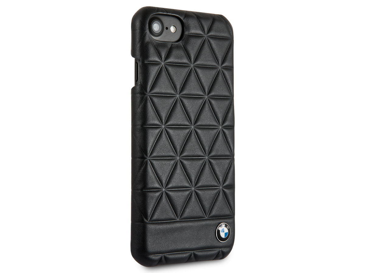 BMW Hexagon Hard Case - Leren iPhone 8/7/6s hoesje