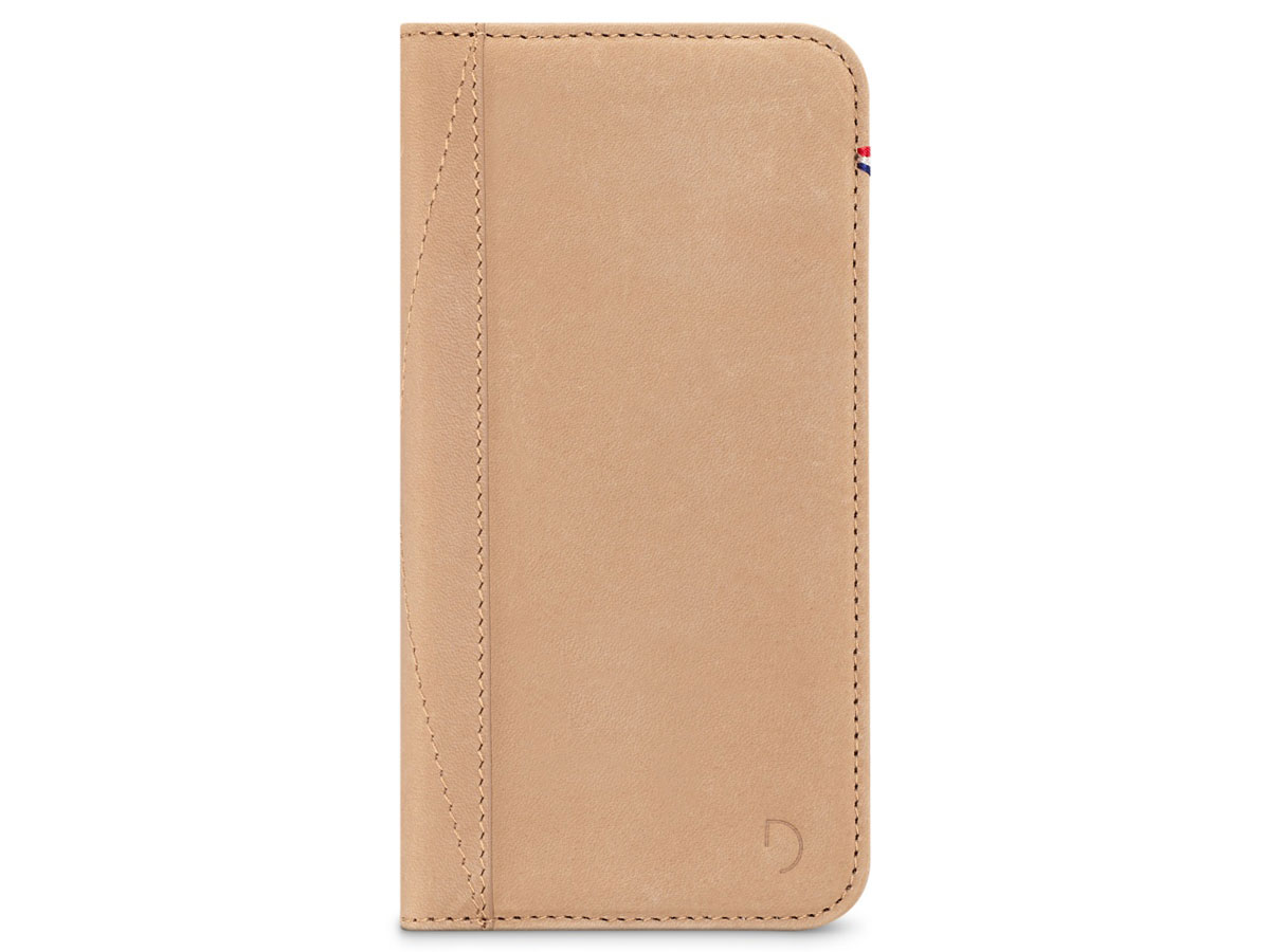Decoded Leather Wallet Sahara - iPhone 8/7/6s hoesje