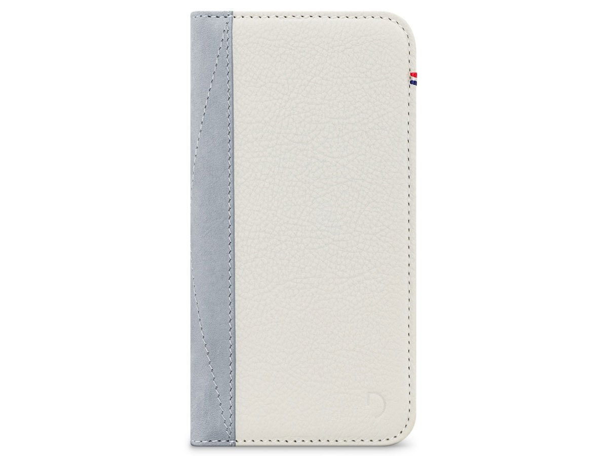 uk availability 77641 2d452 Decoded Leather Wallet Wit | iPhone 8/7/6s hoesje