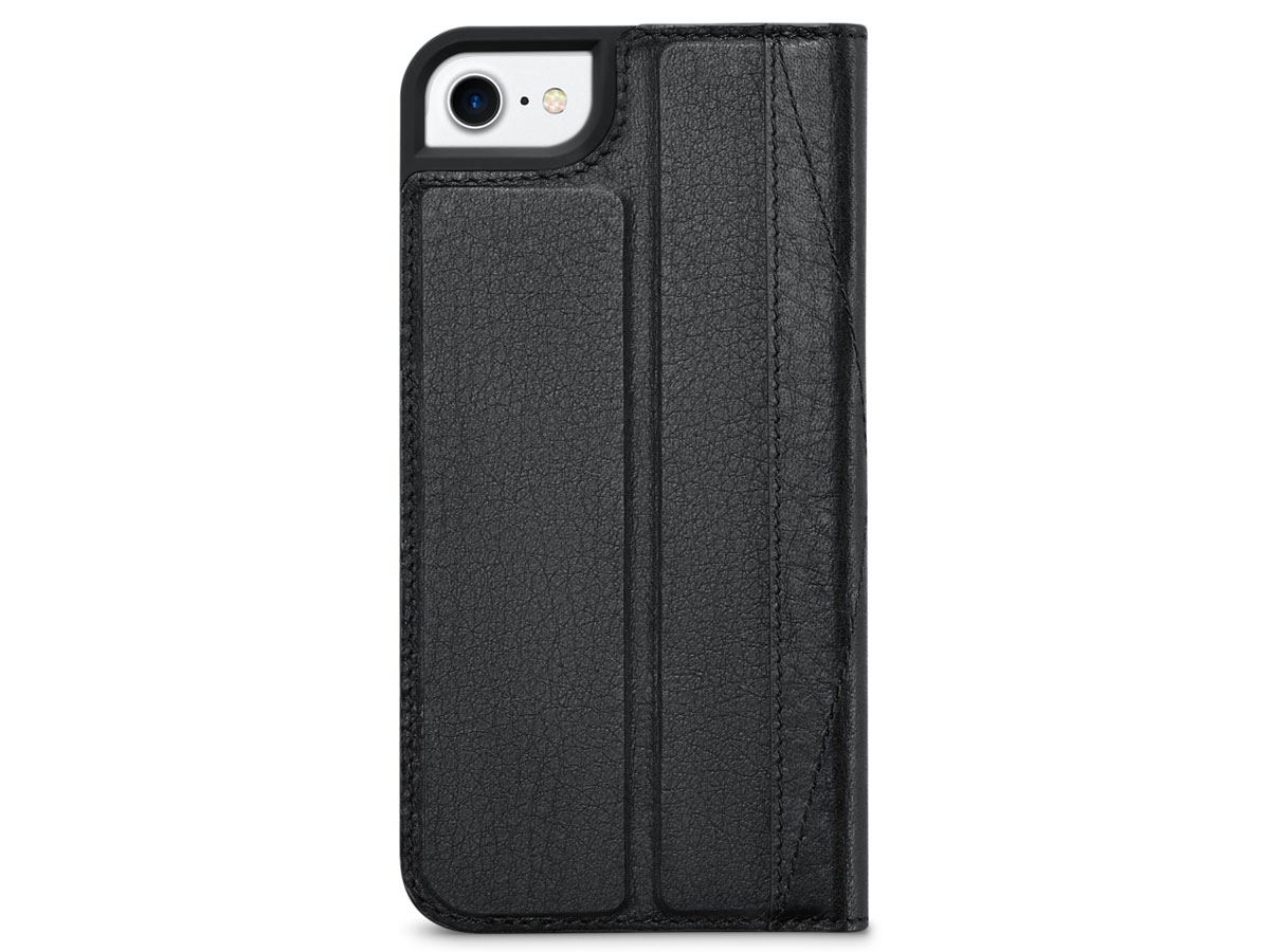Decoded Leather Wallet Black - iPhone 8/7/6s hoesje