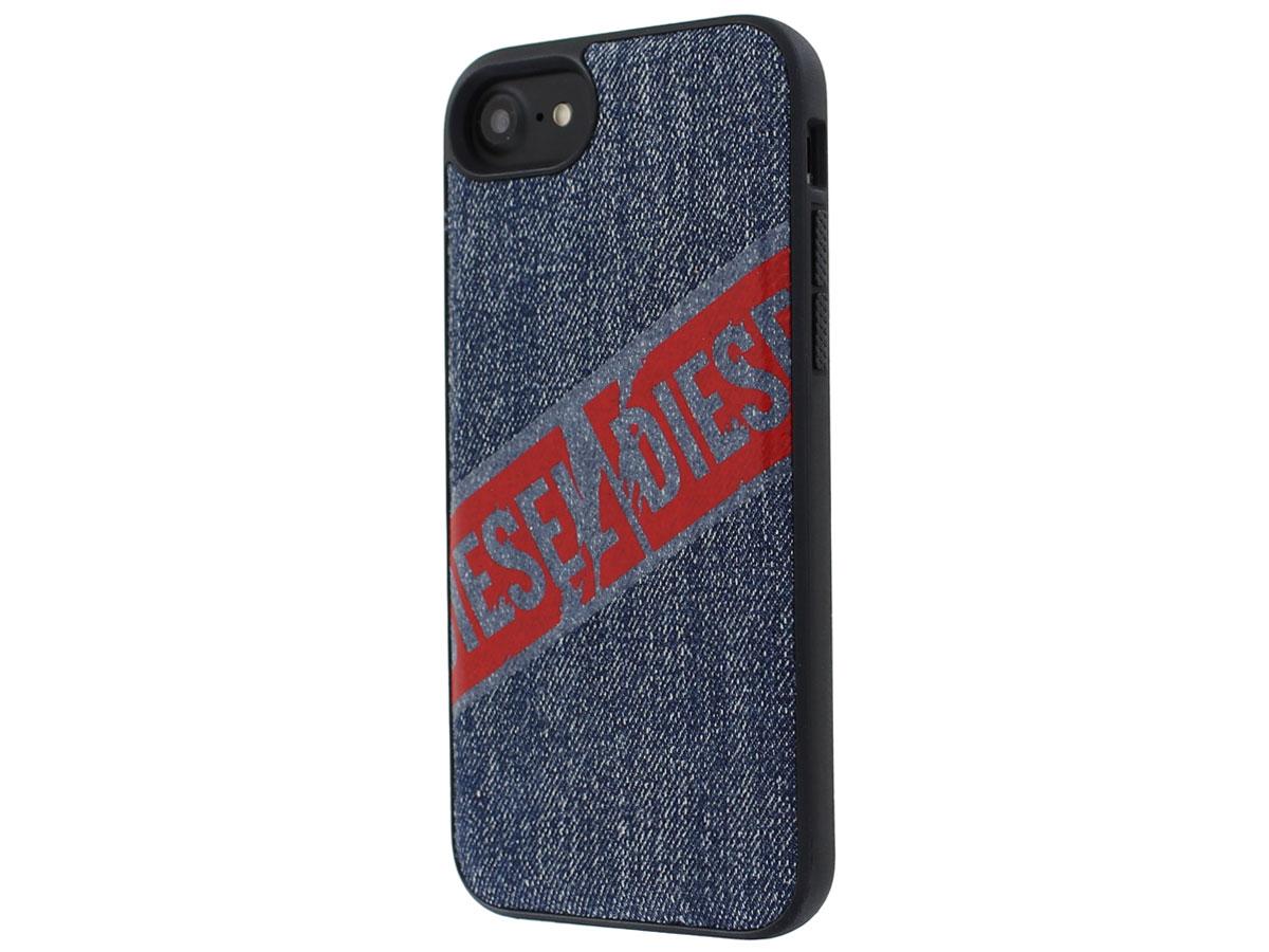 Diesel Denim Back Case - iPhone SE 2020 / 8 / 7 / 6(s) hoesje Blauw