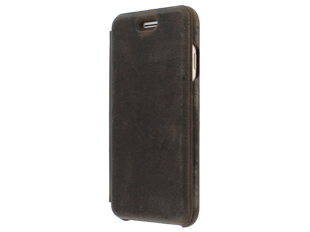 Graffi Oyster Case Vintage Leer - iPhone 8/7/6 hoesje
