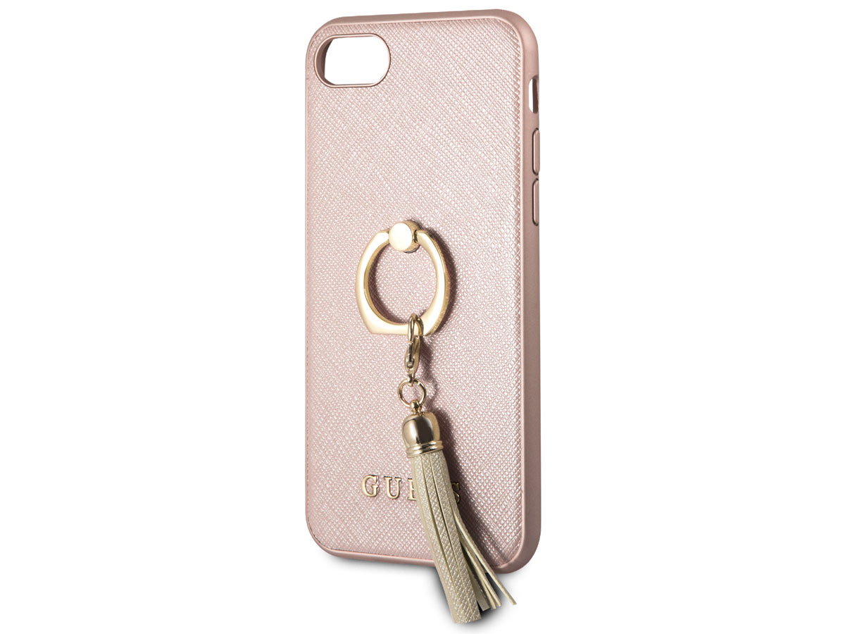 Guess Tassel iRing Case Rosé - iPhone 8/7/6s hoesje