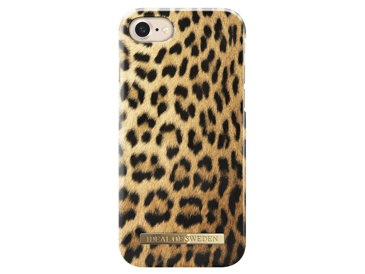iDeal of Sweden Case Wild Leopard - iPhone 8/7/6 hoesje