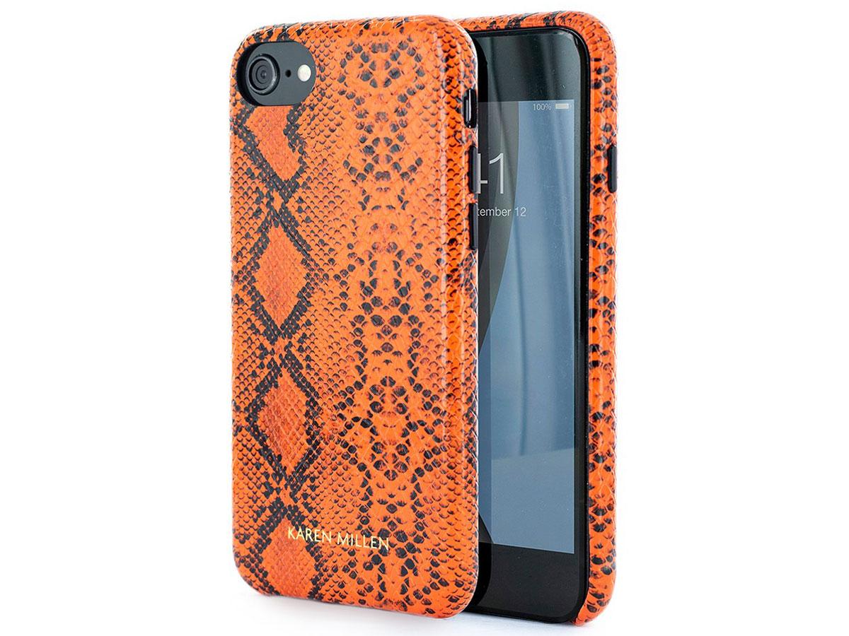 Karen Millen Python Snake Case - iPhone SE 2020 / 8 / 7 / 6(s) hoesje Oranje