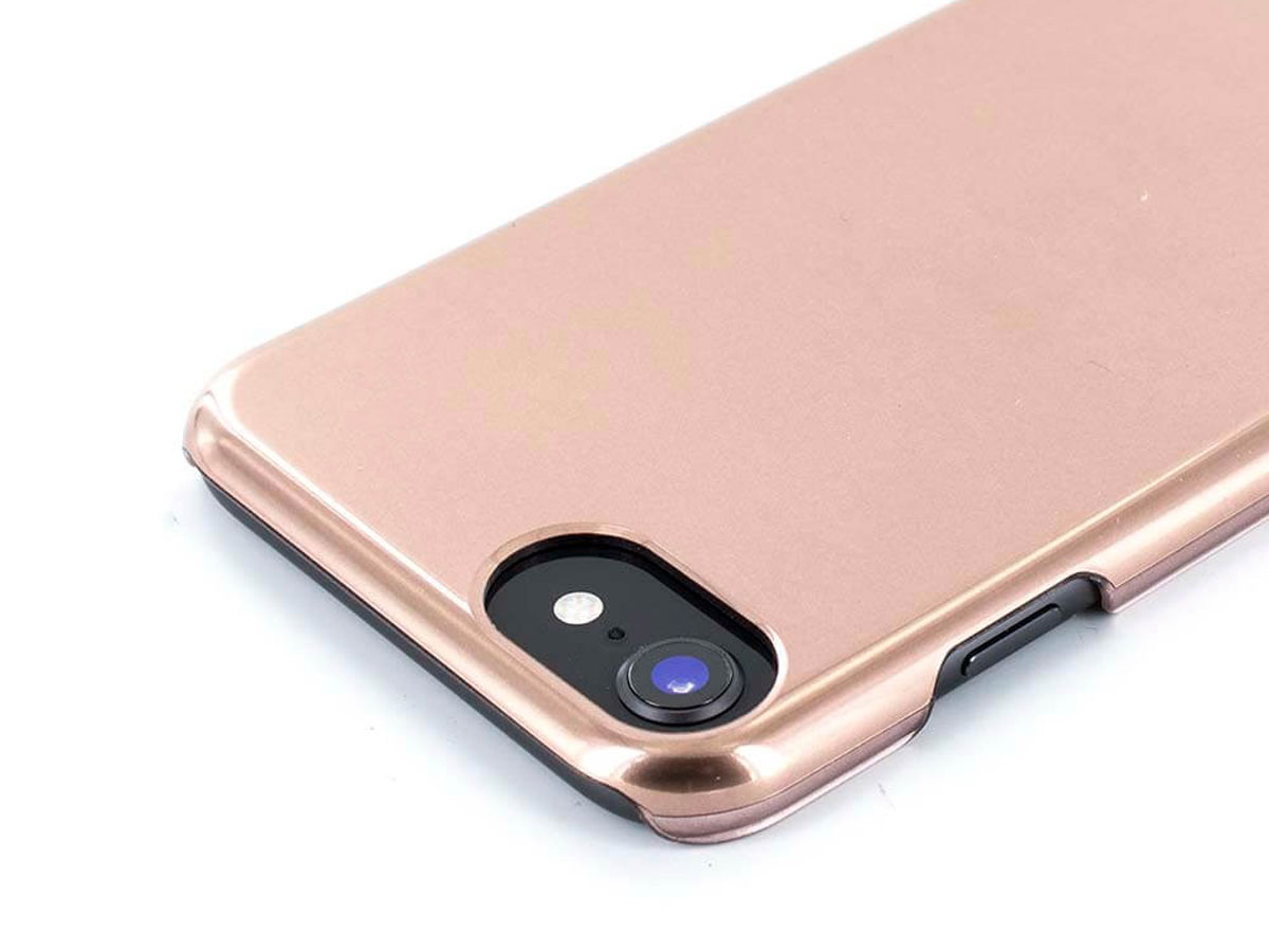 Karen Millen Metallic Case Rosé - iPhone 8/7/6 Hoesje