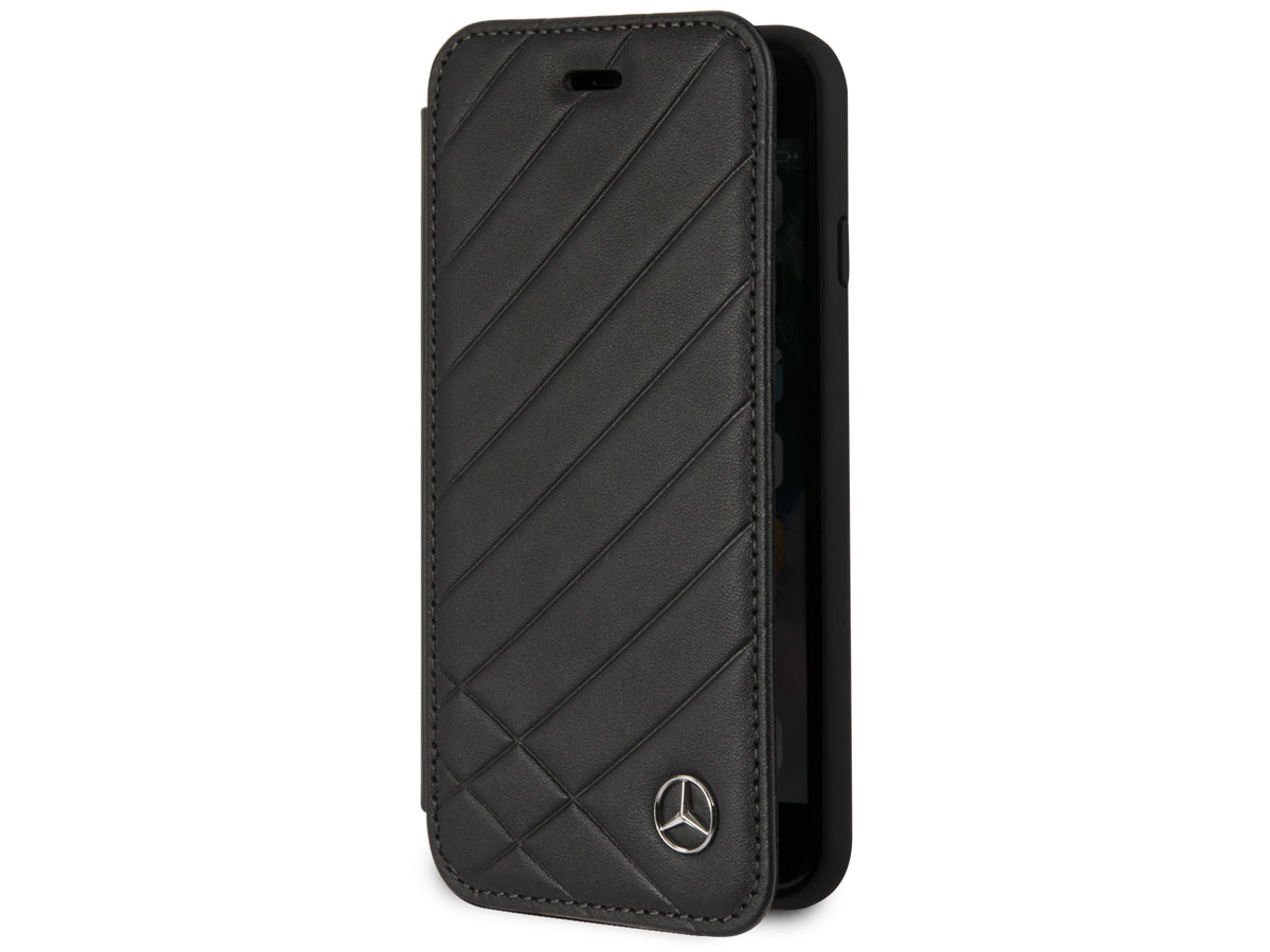 Mercedes-Benz Bookcase II Zwart - iPhone 8/7/6 hoesje