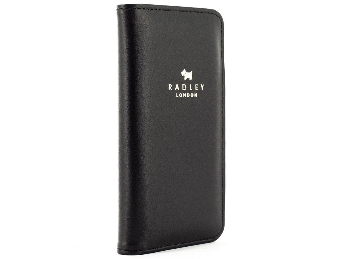 Radley Luxury Folio Case Black - iPhone SE 2020 / 8 / 7 / 6(s) hoesje Zwart