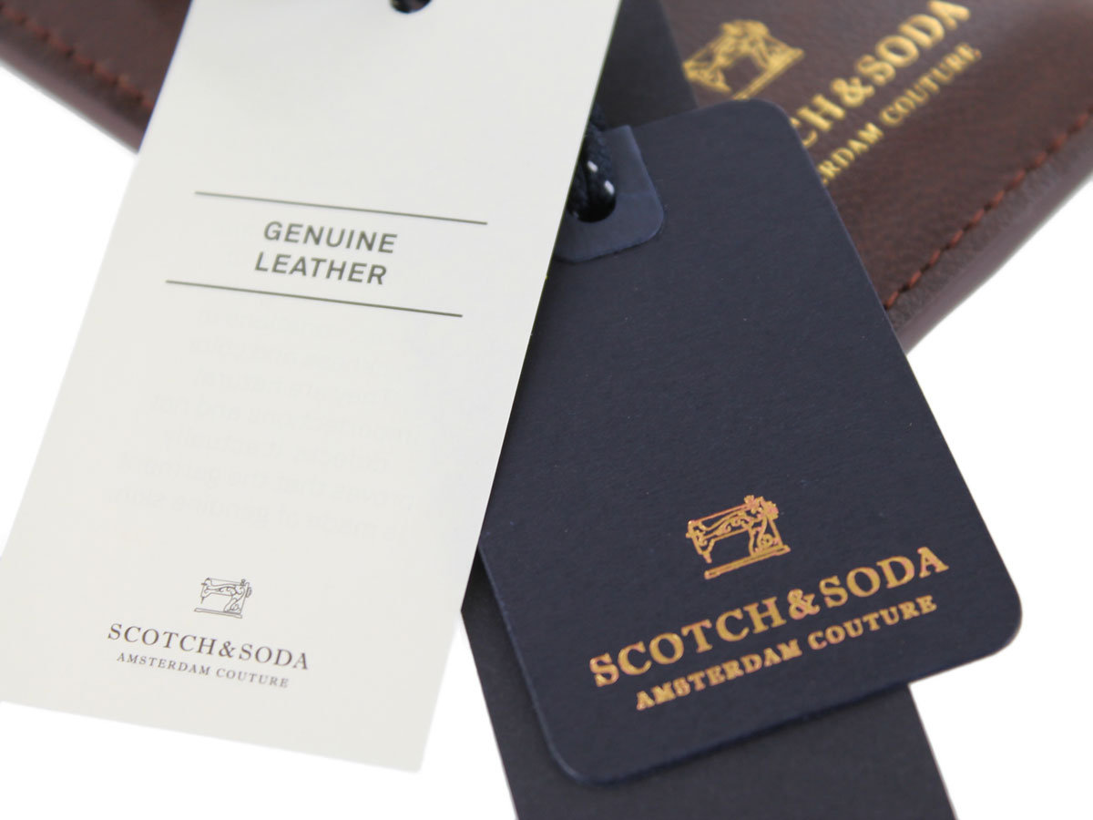 Scotch & Soda Sleeve Bruin Duo - iPhone SE 2020 / 8 / 7 / 6(s) hoesje