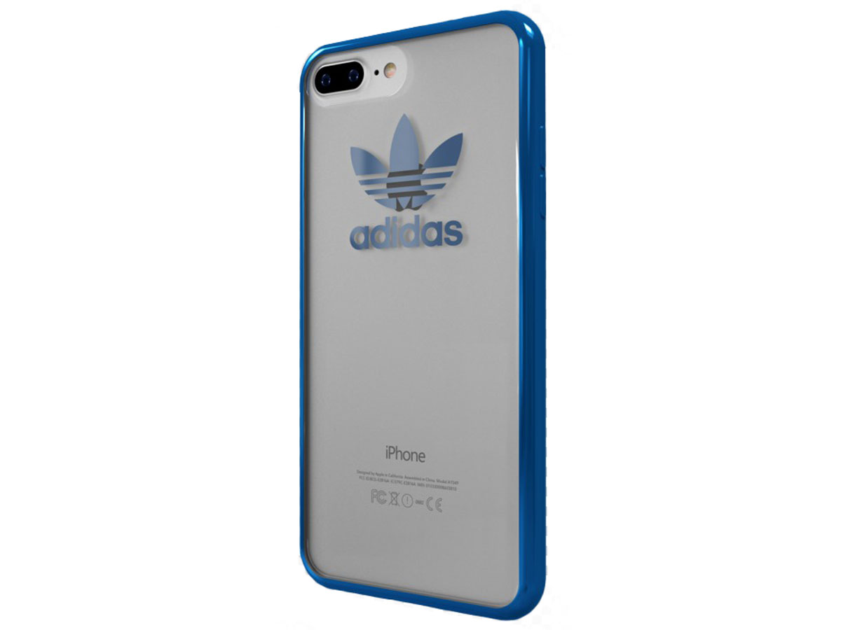 adidas Originals Blue Edge Case - iPhone 8+/7+ hoesje