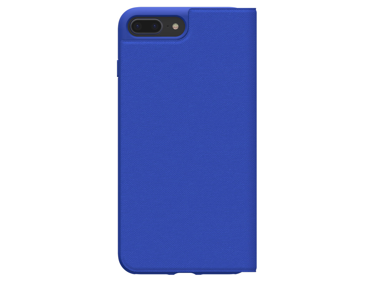 adidas ADICOLOR Booklet Blauw - iPhone 8+/7+/6+ Hoesje