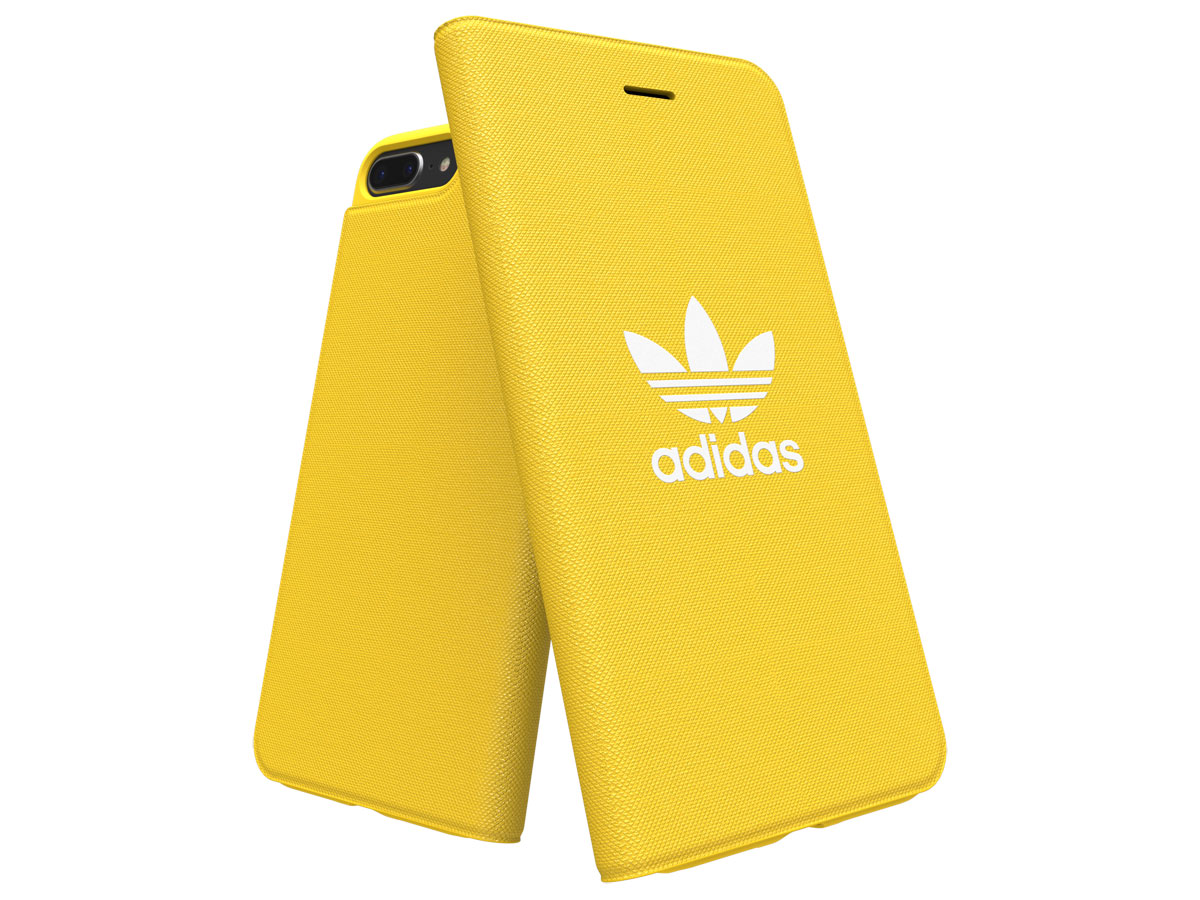 adidas ADICOLOR Booklet Geel - iPhone 8+/7+/6+ Hoesje