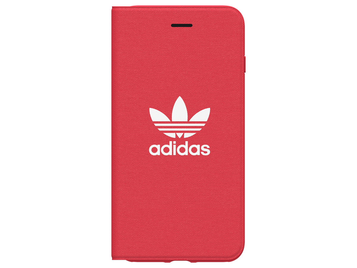 adidas ADICOLOR Booklet Rood - iPhone 8+/7+/6+ Hoesje