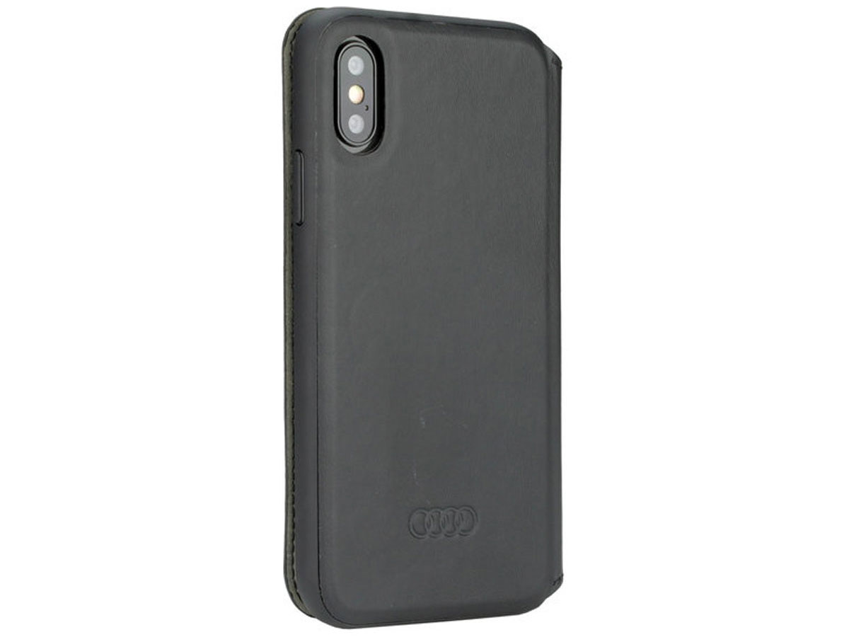 Audi Bookcase TT Series Zwart - iPhone 8+/7+/6+ hoesje