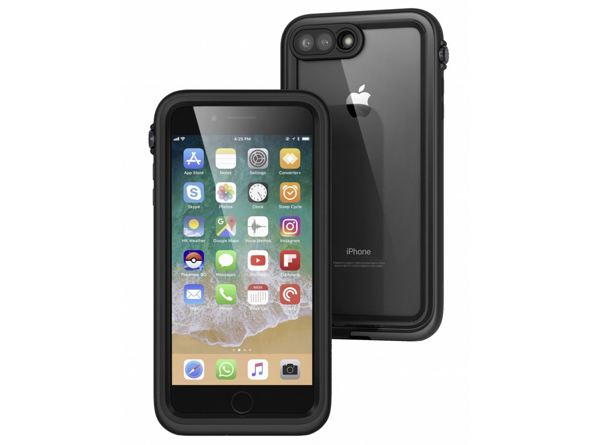 Catalyst Case - Waterdicht iPhone 8 Plus/7 Plus hoesje Zwart