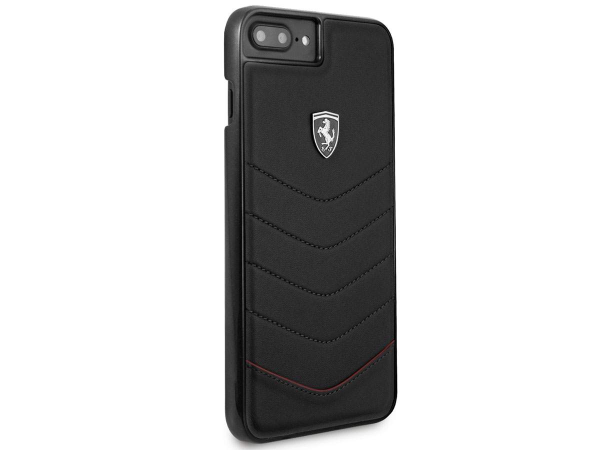 Ferrari Heritage Quilted Case - iPhone 8+/7+/6s+ hoesje