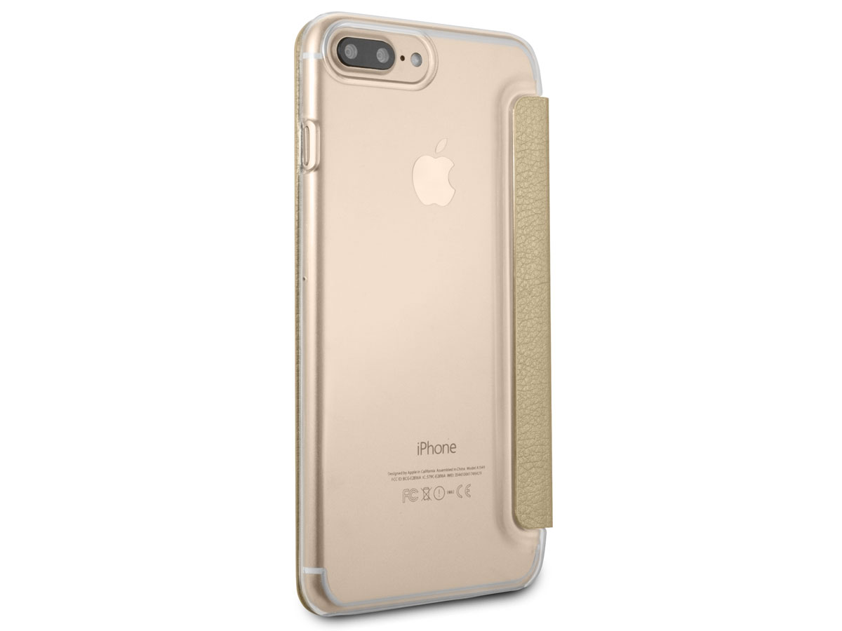 Guess Iridescent Book Goud - iPhone 8+/7+/6+ hoesje